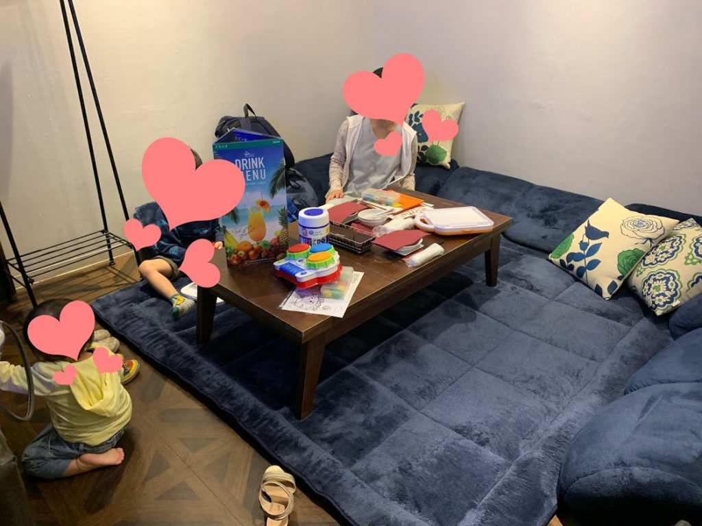 パセラ横浜ハマボールイアス店 お部屋 ママ会