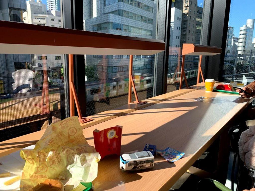 電車の見えるレストラン 子連れ渋谷 宮下パーク