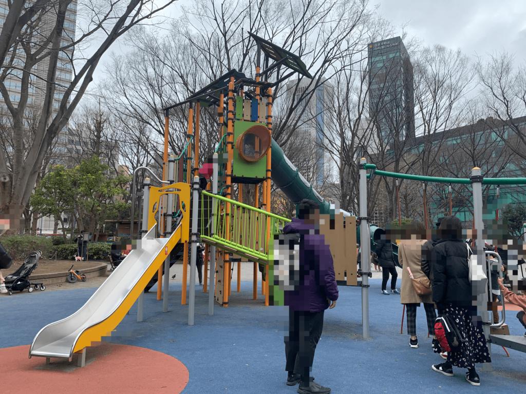 新宿中央公園 子連れおでかけ 子連れ新宿